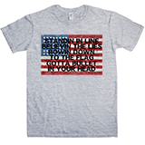 Standin In Line USA T-Shirt
